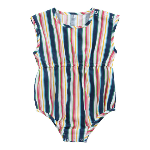 Organic Cotton Short Playsuit - Helter Skelter
