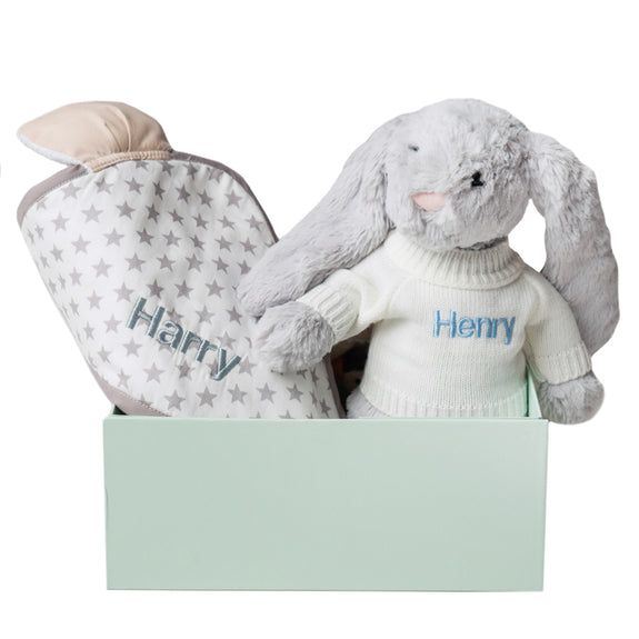 Personalised Bath and Comfort Set