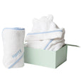 Personalised Essential Bath Set - Blue - Lovingly Signed - SG