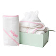Personalised Essential Bath Set - Pink - Lovingly Signed