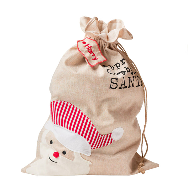 Personalised Santa Sack - Lovingly Signed - Singapore