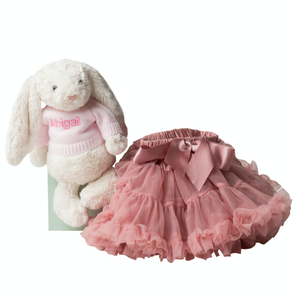 Bashful Bunny and Tutu Delight Set - Lovingly Signed - SG