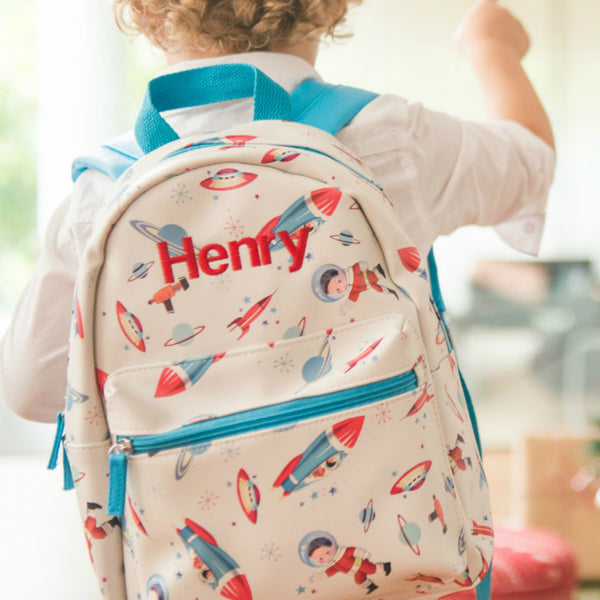Personalised Space Backpack - Lovingly Signed