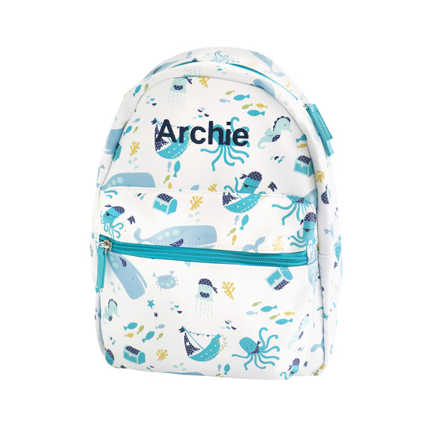 Personalised Deep Sea Backpack