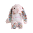 Personalised Blossom Blush Bunny - Lovingly Signed
