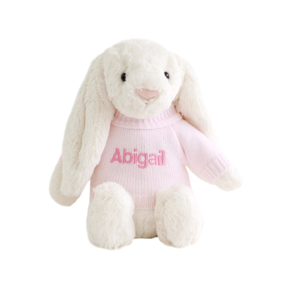 Personalised Jellycat Bunny - Cream