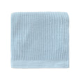 Organic Cotton Blanket Duo Set - Blue/White