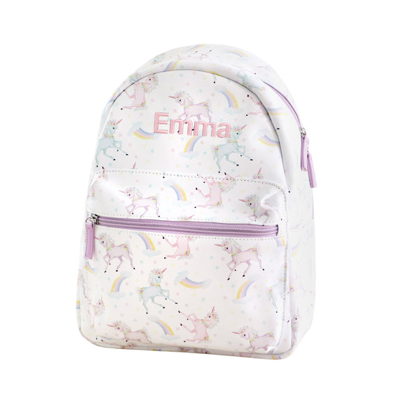 Personalised Unicorn Backpack - Lovingly Signed - Singapore