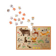 Les Grands Explorateurs 150pc Mini Puzzle (Forest Creatures)