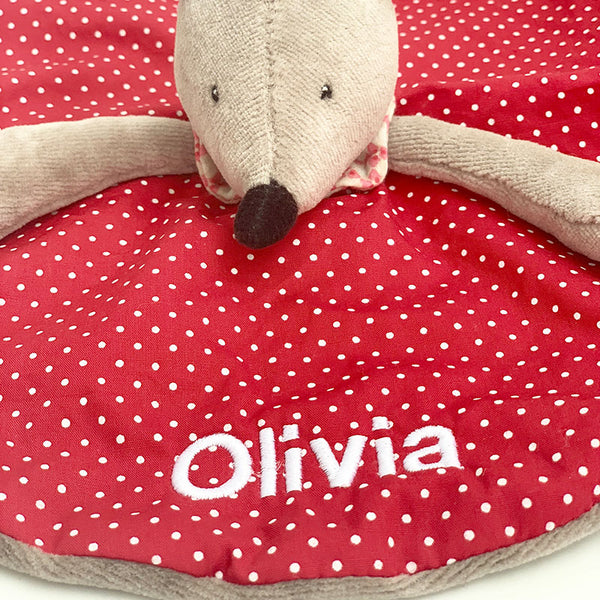 Personalised Nini The Mouse Doudou - Lovingly Signed