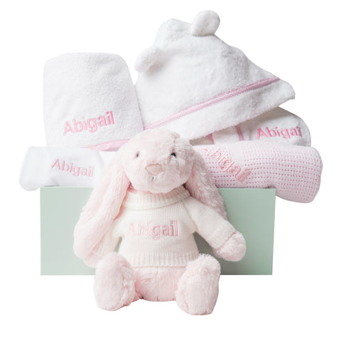 Super Luxe Baby Gift Set -Pink