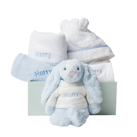 Super Luxe Baby Gift Set - Blue