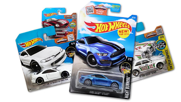 Collectible Carded Hot Wheels And Matchbox MOC Cars With Protectors