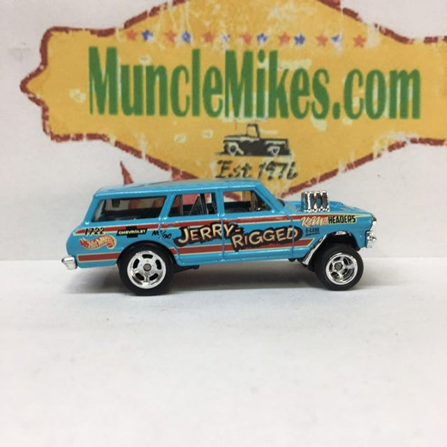 MONTHLY HOT WHEELS CLUB: RUBBER TIRE SWAPPED CUSTOM HOT WHEELS