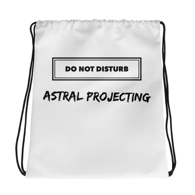 Astral Projecting Drawstring bag