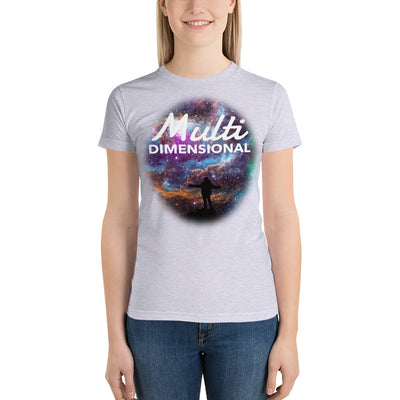 Multidimensional Short sleeve women's t-shirt