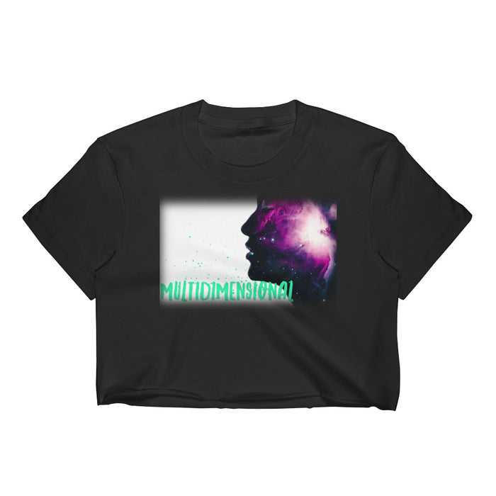 Multidimensional Youniverse Women's Crop Top