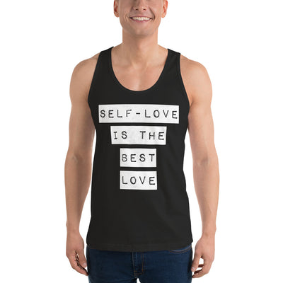 Self-Love Best Love Classic tank top (unisex)