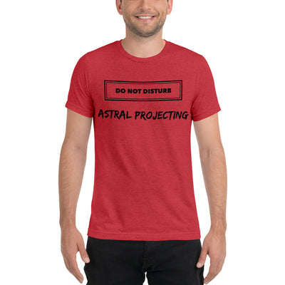 Astral Projecting Short sleeve t-shirt