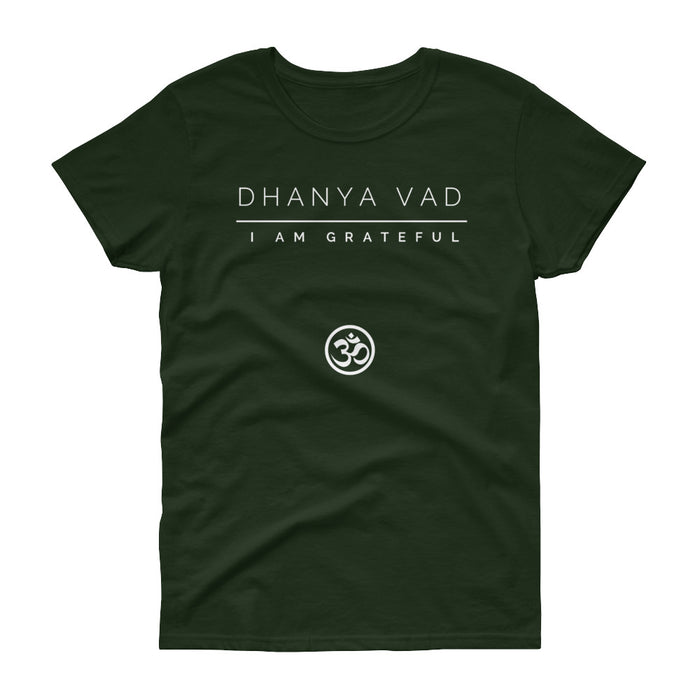Dhanya Vad Women's short sleeve t-shirt