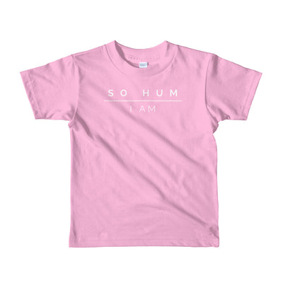 So Hum Short sleeve kids t-shirt