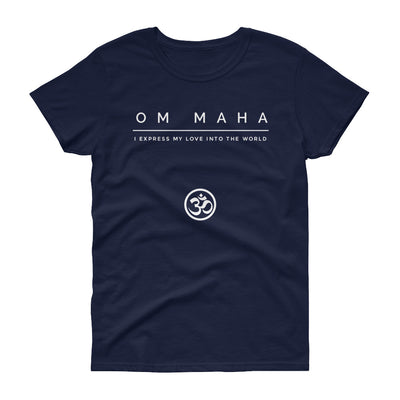 Om Maha Women's short sleeve t-shirt