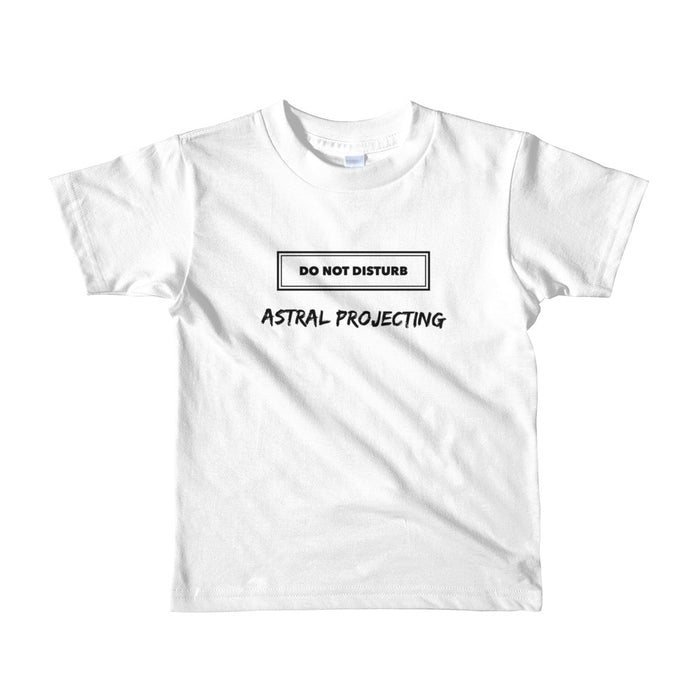 Astral Projecting Short sleeve kids t-shirt