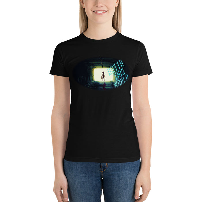 Outta This World Alien Short sleeve women's t-shirt