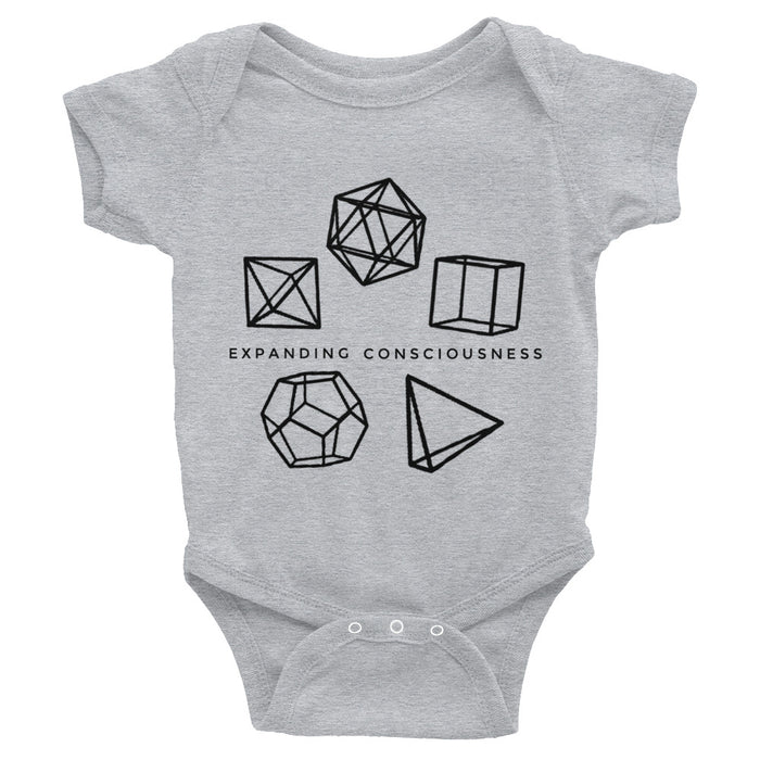 Platonic Solids Onesie