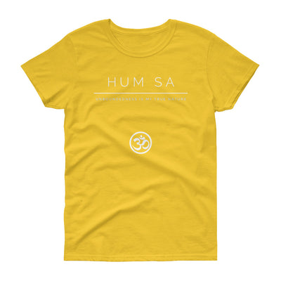 Hum Sa Women's short sleeve t-shirt