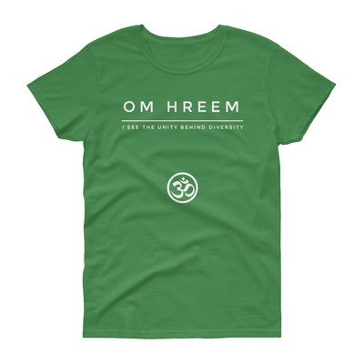 Om Hreem Women's short sleeve t-shirt