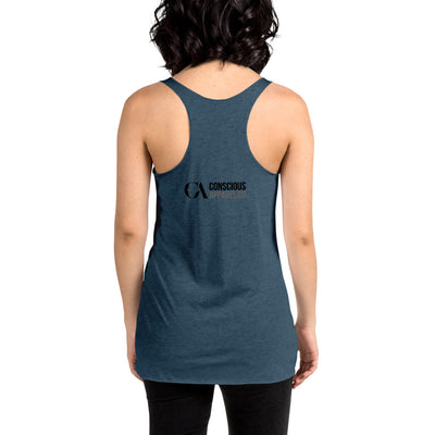 Multidimensional Marilyn Women's Racerback Tank