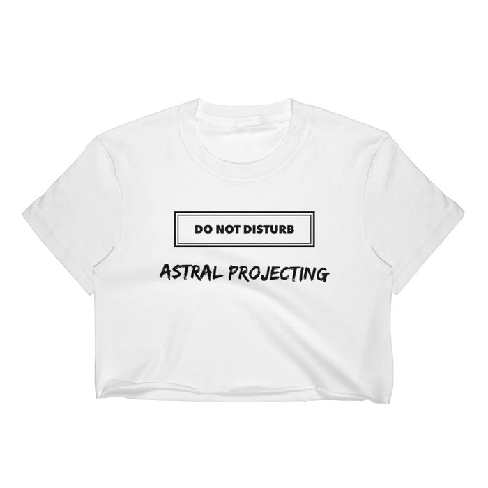 Astral Projecting Women's Crop Top