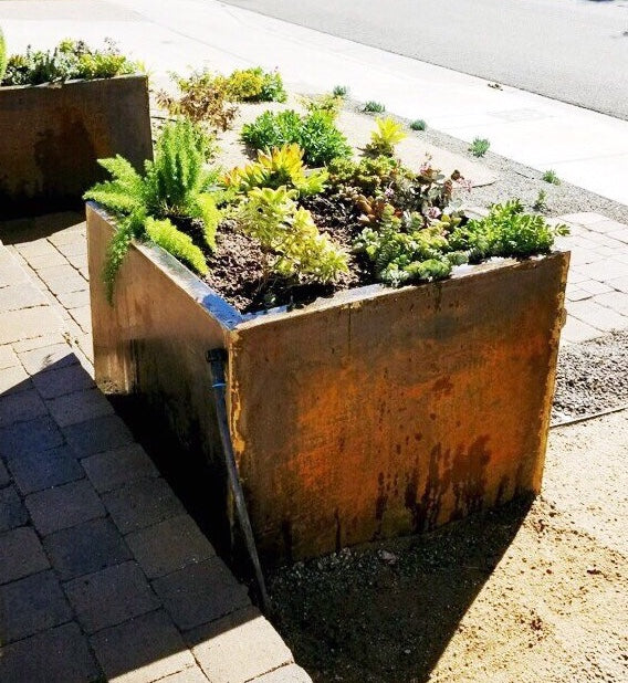 Corten Planters: A Great Investment for Your Landscape