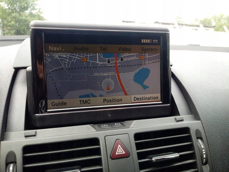 [HOW TO] Mercedes-Benz COMAND APS NTG 4-204 Navigation Update