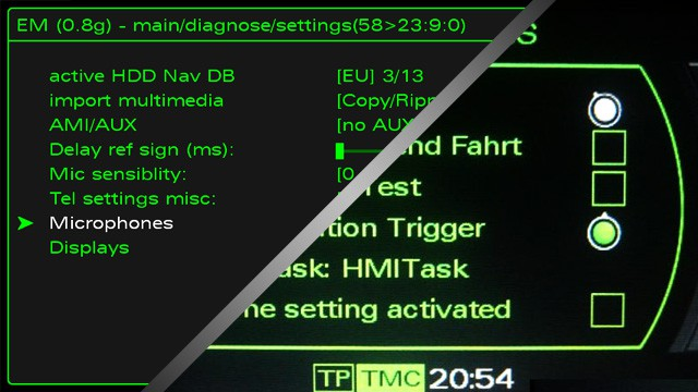 [HOW TO] Enable the Green Menu on Audi MMI 3G Systems