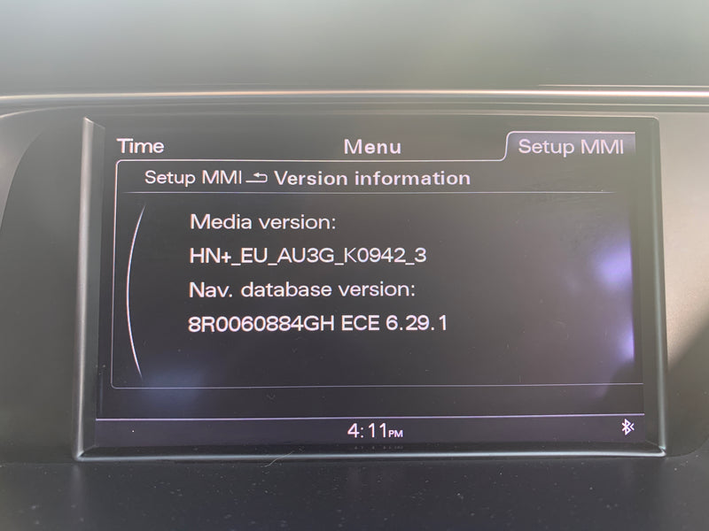[HOW TO] Audi MMI 3G+, 3G Plus Navigation & Firmware Update