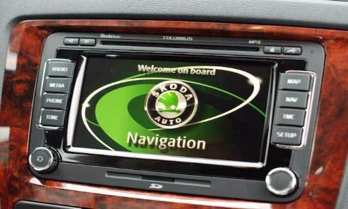 Skoda RNS Columbus 2018 Navigation Map Update Package - 3T0051859AQ - SatNavUpgrade