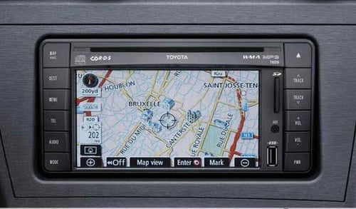 Toyota TNS510 Navigation Map Update SD - PZ445-SD333-0P