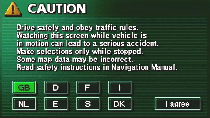 Toyota TNS600/TNS700 Navigation Map Update DVD - PZ445-X03EU-0N