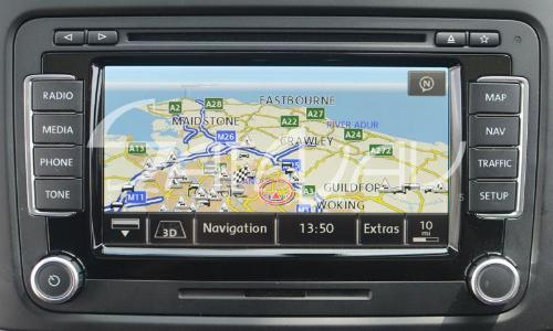 Skoda Columbus 2019 Navigation Map Update Package - 3T0051859AT