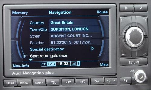 Audi RNS-E 2018 Navigation Plus Map Update DVD - 8P0060884CS - SatNavUpgrade