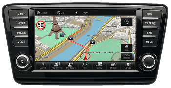 Skoda MIB1, MIB2 HDD 2018 Navigation Map Update Package -