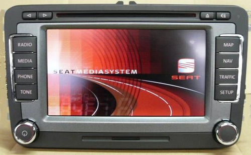 Seat RNS-510 2018 Navigation Map Update DVD - 7N5051884J - SatNavUpgrade