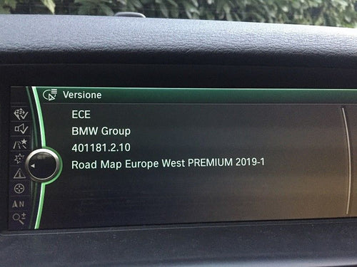 BMW Premium 2019 Navigation Map Update Package