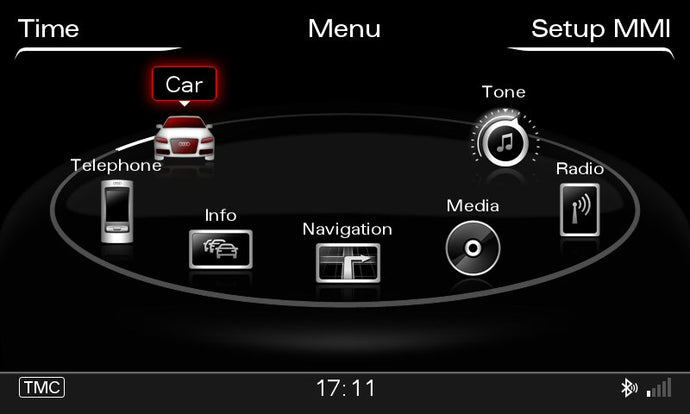 Audi MMI 3G+, 3G Plus HDD 2018 Navigation Map Update Package - 8R0060884FK