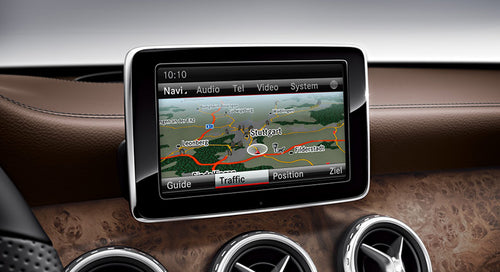Mercedes-Benz NTG4.5 COMAND 2019 Navigation Map Update Package