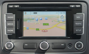 Volkswagen RNS-310 2018 Navigation Map Update Package - 3C8051884DD