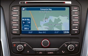 Ford MCA 2019 Navigation Map Update SD Card - i201 3214