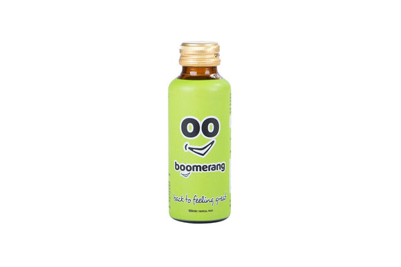 Boomerang Drink Sample